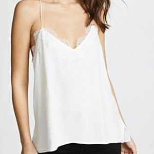 NEW Cami NYC white The Racer top